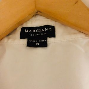 GUESS MARCIANO BLOUSE WITH BACK/FRONT TIES